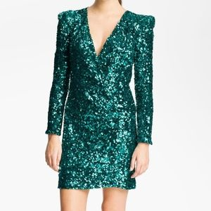 French Connection Samantha Sequin Dress